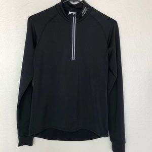 Brooks Athletic Pullover reflective 1/2zip black S